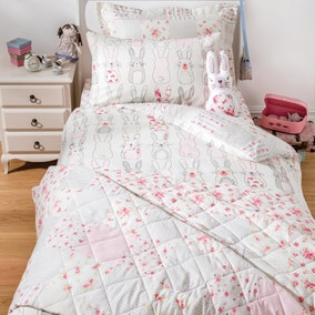 Katy Rabbit Pink Bed Linen Collection