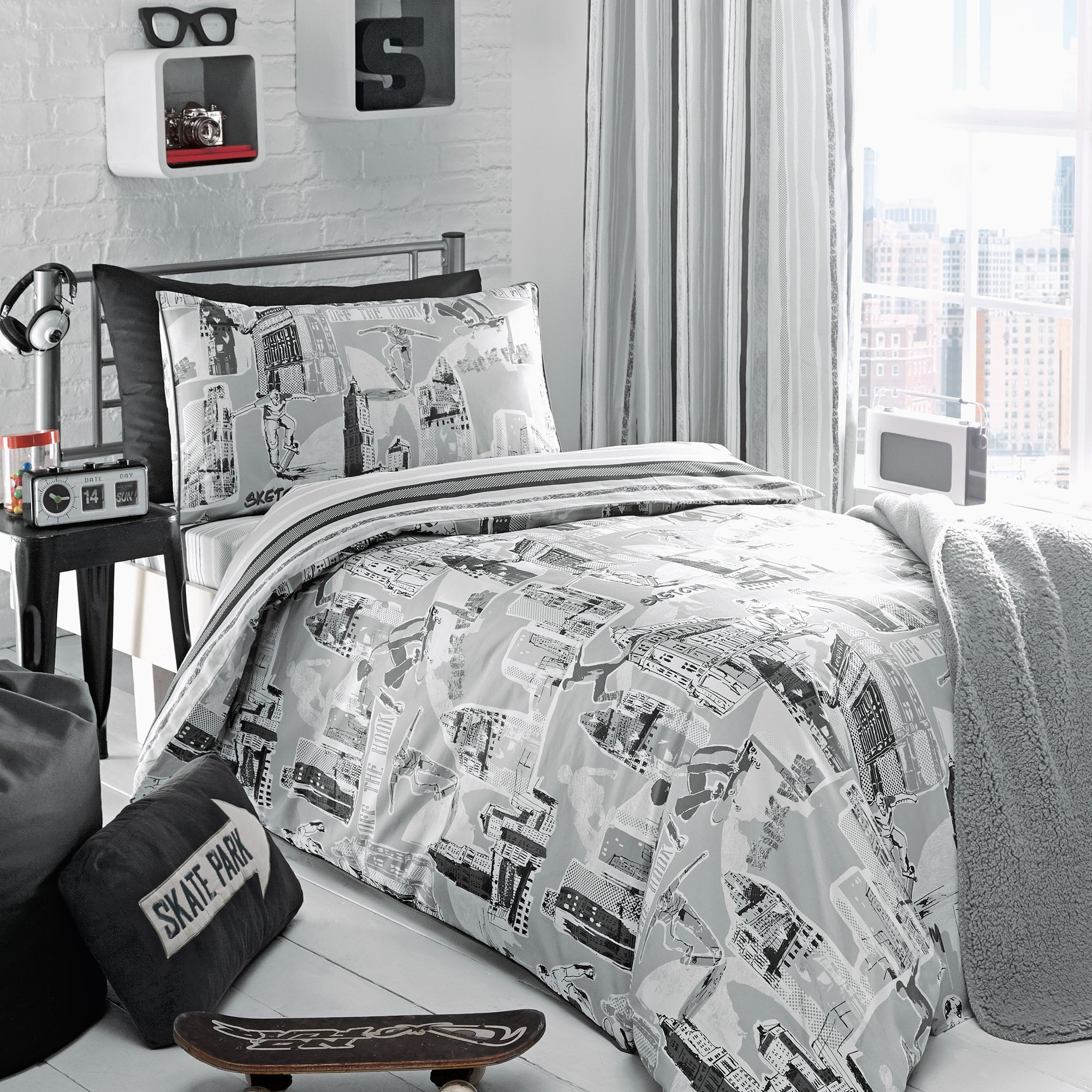 Urban Skater Bed Linen Collection