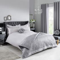Grey Claire Bed Linen Collection