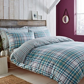Hartford Teal Bed Linen Collection