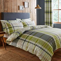Stanley Green Bed Linen Collection