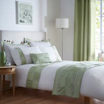 Dexter Green Bed Linen Collection