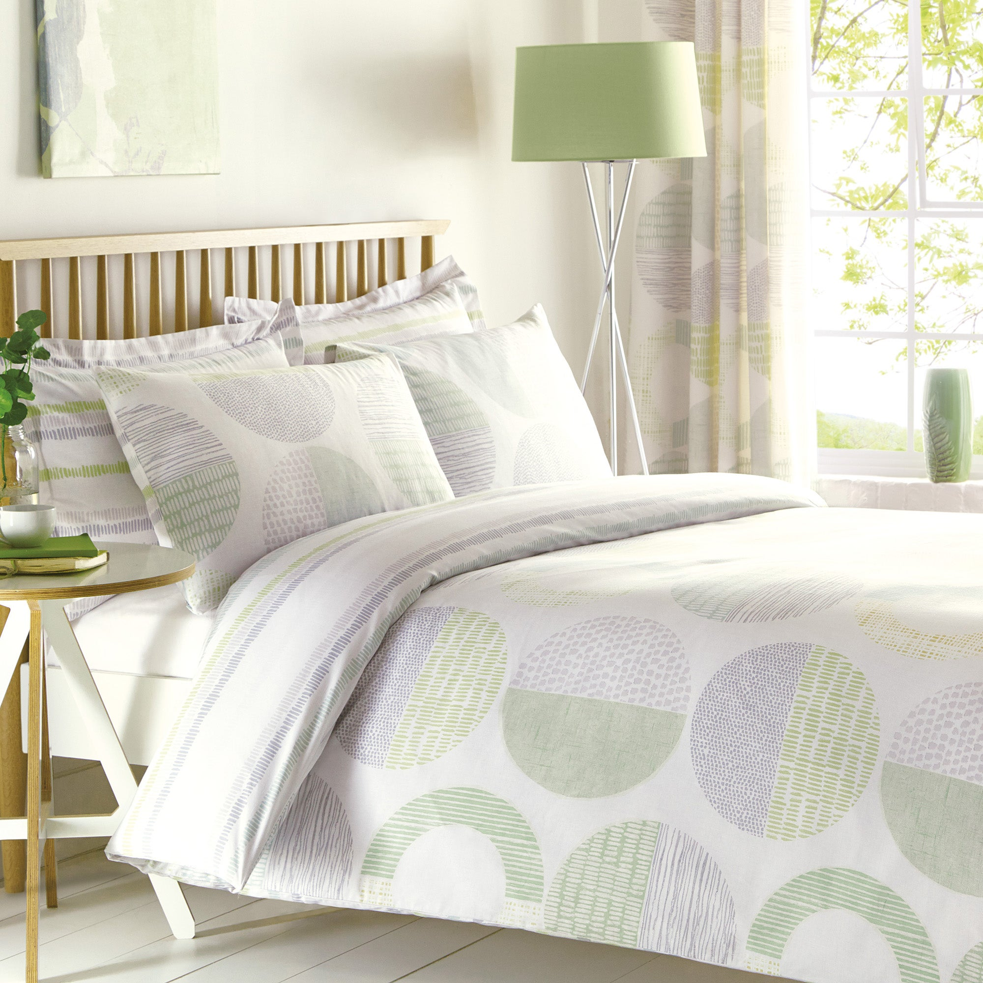 Charlie Green Bed Linen Collection