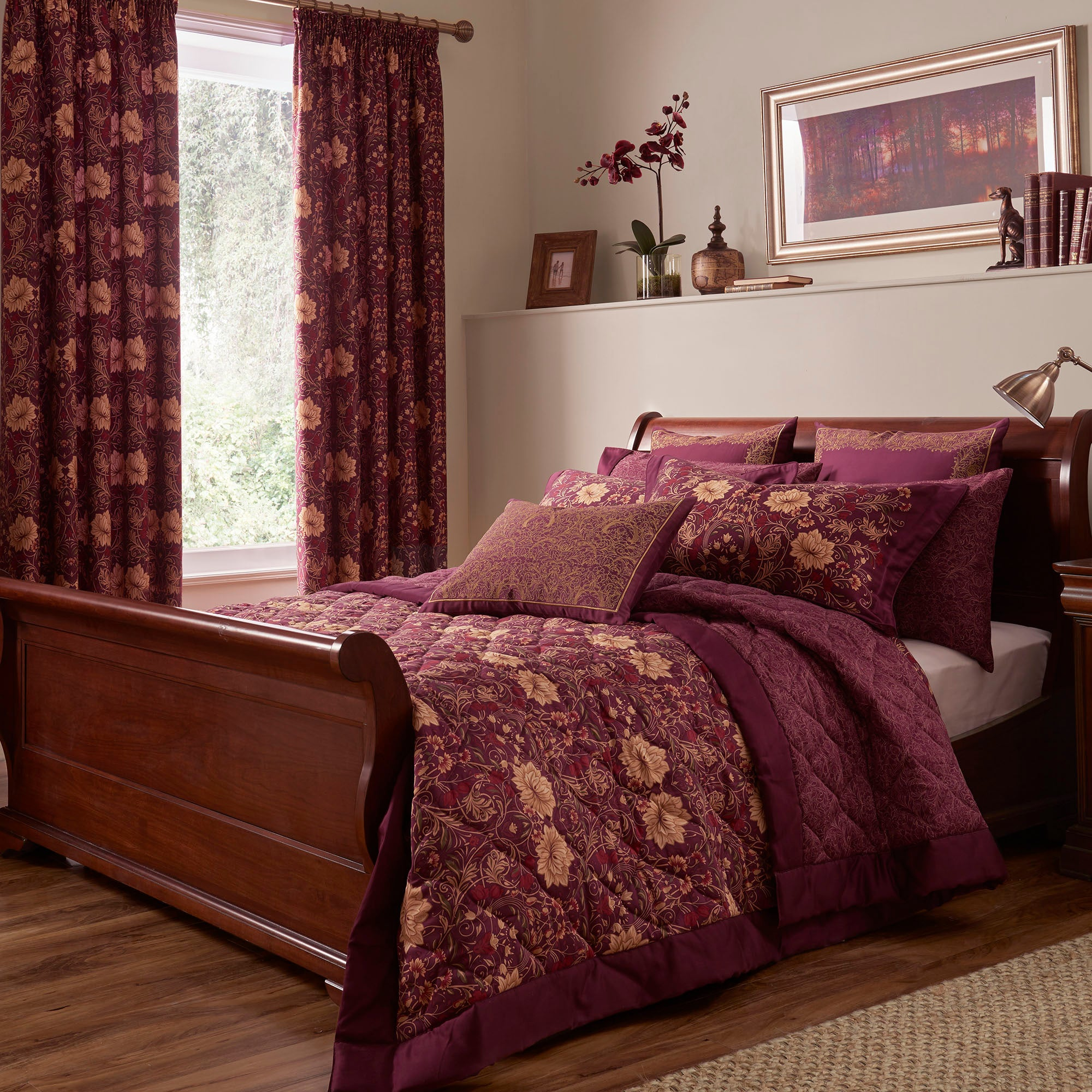 Dorma Victoria Plum Bed Linen Collection