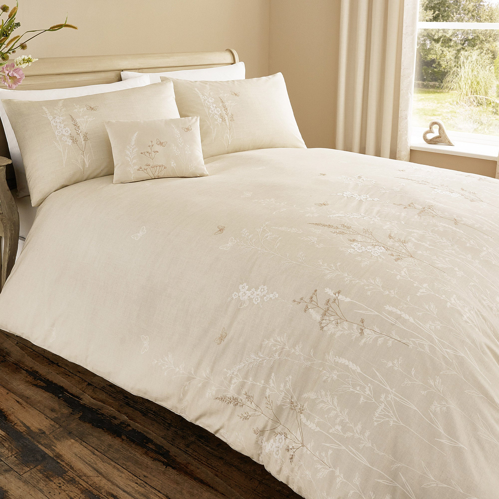 Pasture Natural Bed Linen Collection
