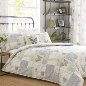 Darwin Blue Bed Linen Collection