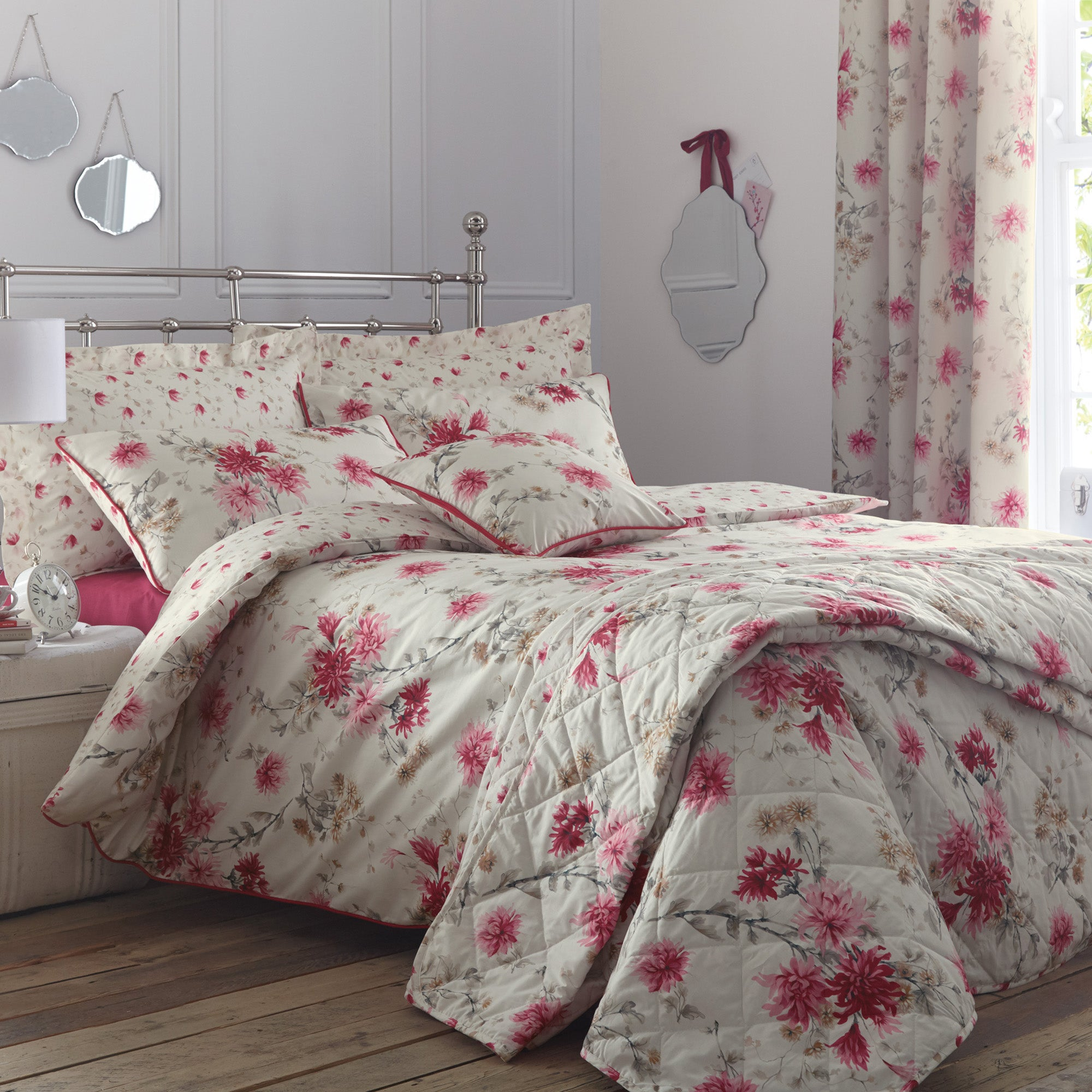 Analise Pink Bed Linen Collection