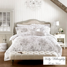 Holly Willoughby Ruby Grey Bed Linen Collection