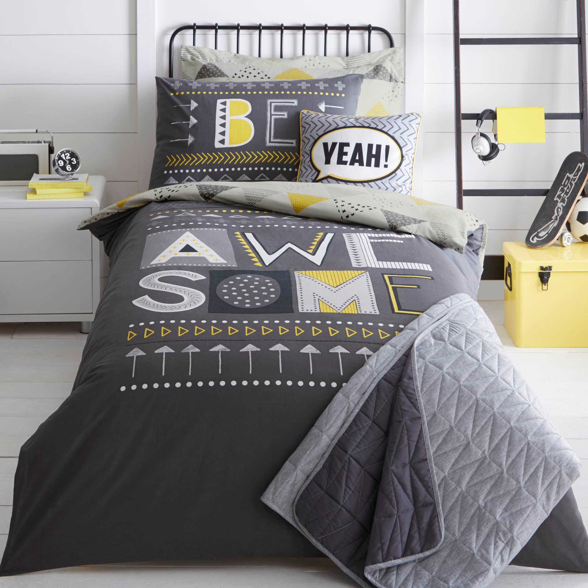 Be Awesome Bed Linen Collection