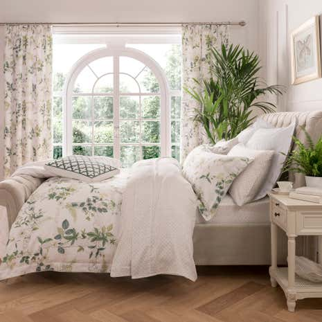 dorma botanical garden bed linen collection dunelm
