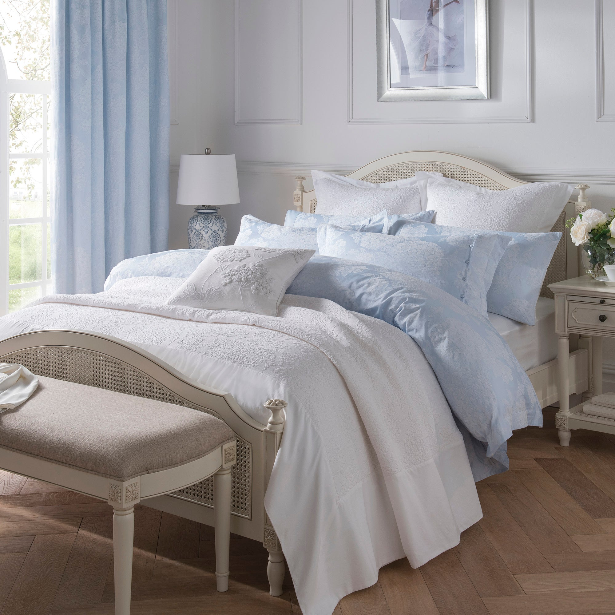 Dorma Hydrangea Bed Linen Collection
