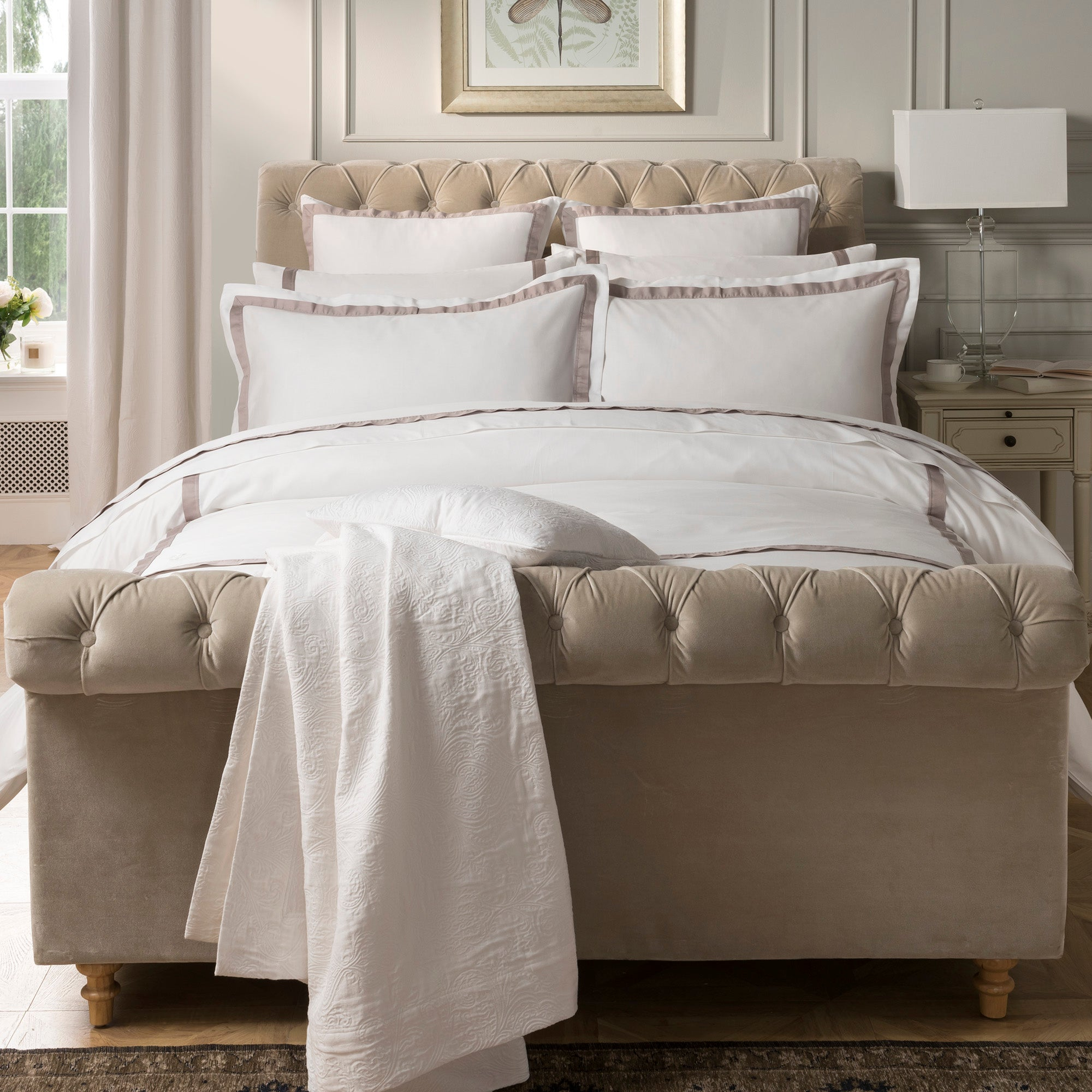 Dorma Maddison Natural Bed Linen Collection