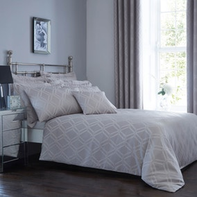 Geo Jacquard Bed Linen Collection