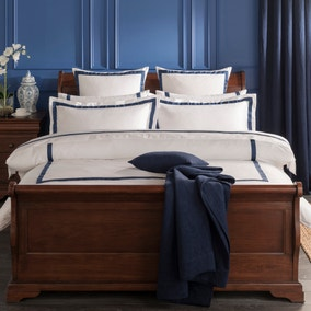 Dorma Maddison Navy Bed Linen Collection
