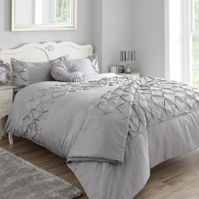Karissa Grey Bed Linen Collection