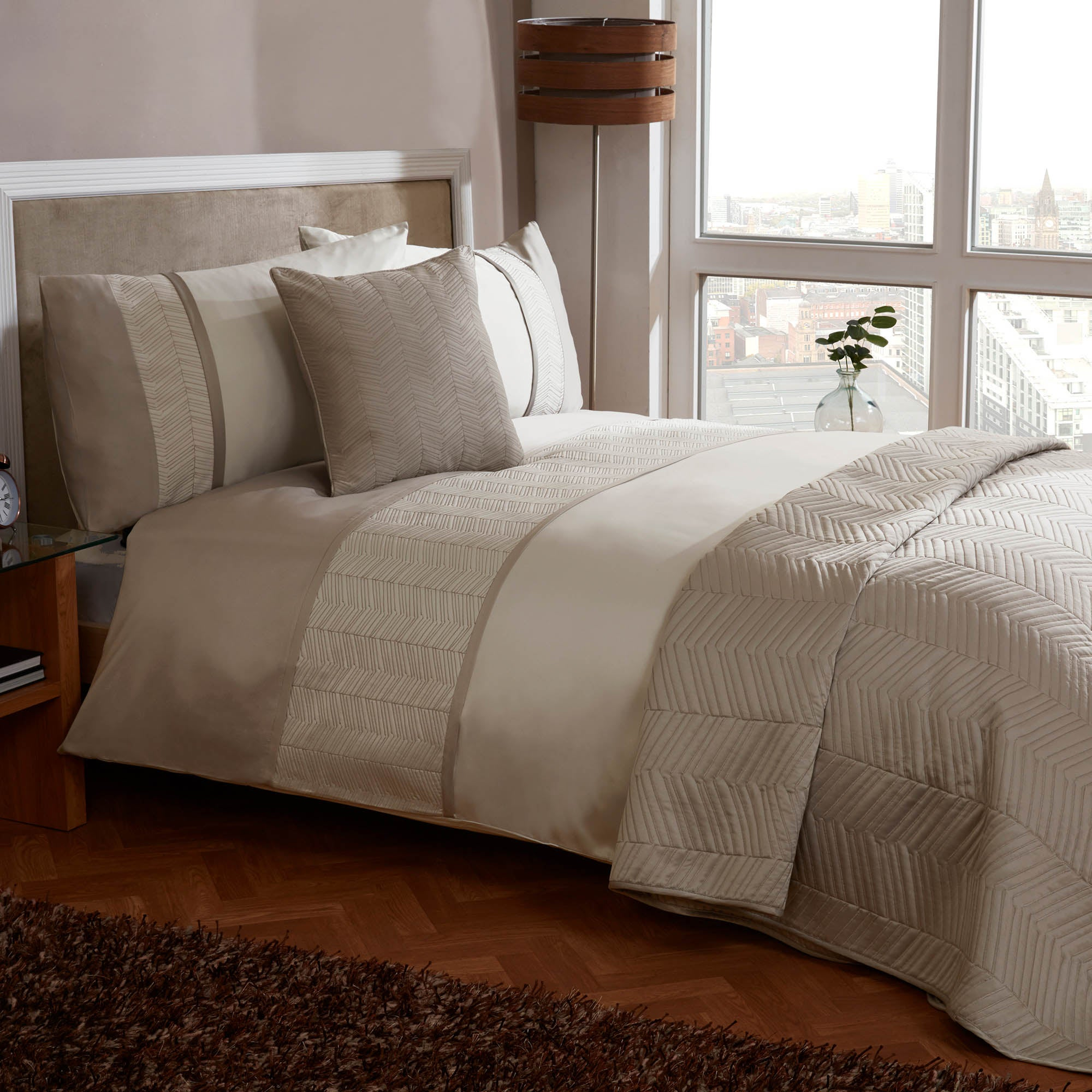 Owen Gold Bed Linen Collection
