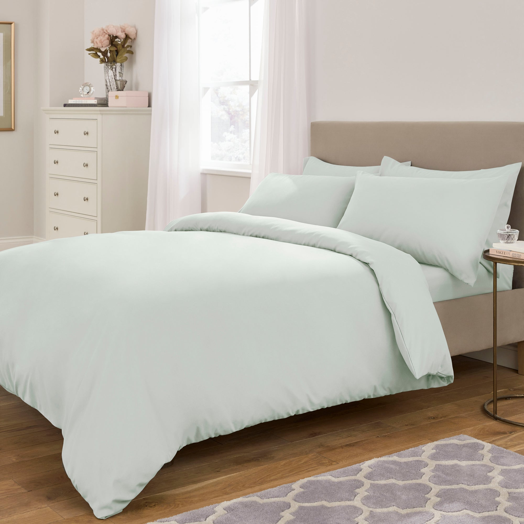 Fogarty Soft Touch Duck Egg Bed Linen Collection