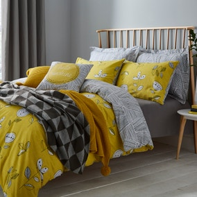 Elements Sunflower Yellow Bed Linen Collection