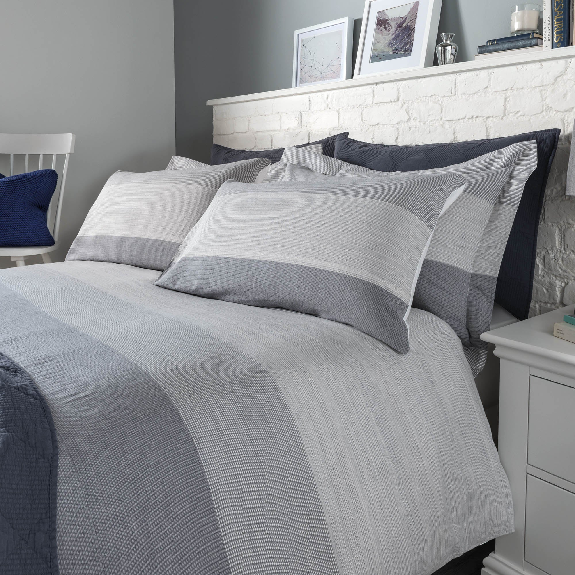 Wentworth Blue Bed Linen Collection