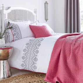 Ameya Grey Bed Linen Collection