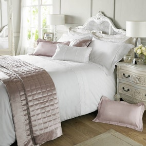 Holly Willoughby Aimee White Bed Linen Collection