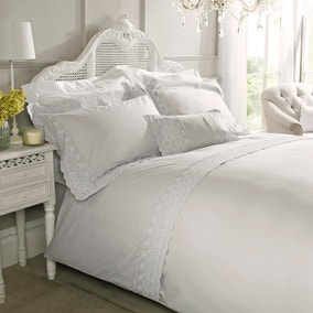 Holly Willoughby Aimee Silver Bed Linen Collection