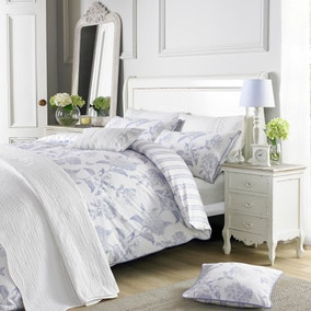 Holly Willoughby Rene Blue Bed Linen Collection