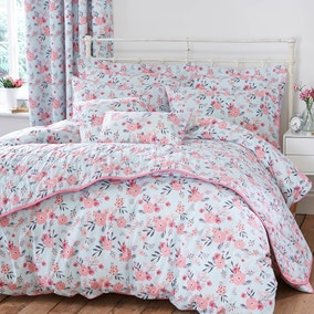 Sakura Blue Bed Linen Collection