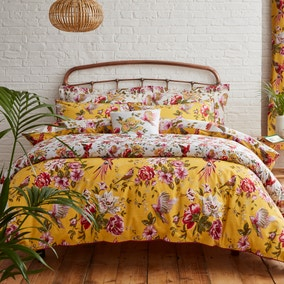 Eliana Yellow Bed Linen Collection