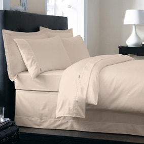 Dorma 250 Thread Count Cream Bed Linen Collection