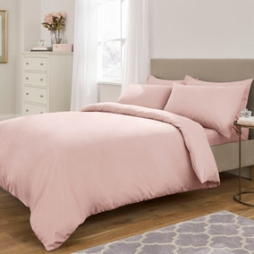 Fogarty Soft Touch Dusky Pink Bed Linen Collection