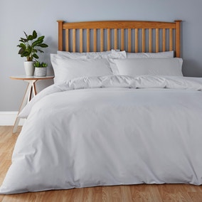 Easycare Dove Grey Bed Linen Collection