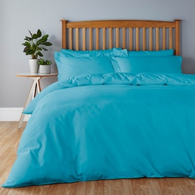 Easycare Vivid Blue Bed Linen Collection