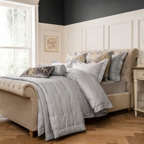 Dorma Juliette Grey Bed Linen Collection