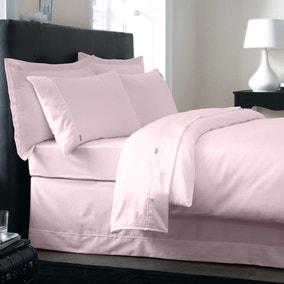 Dorma 350 Thread Count Blush Bed Linen Collection