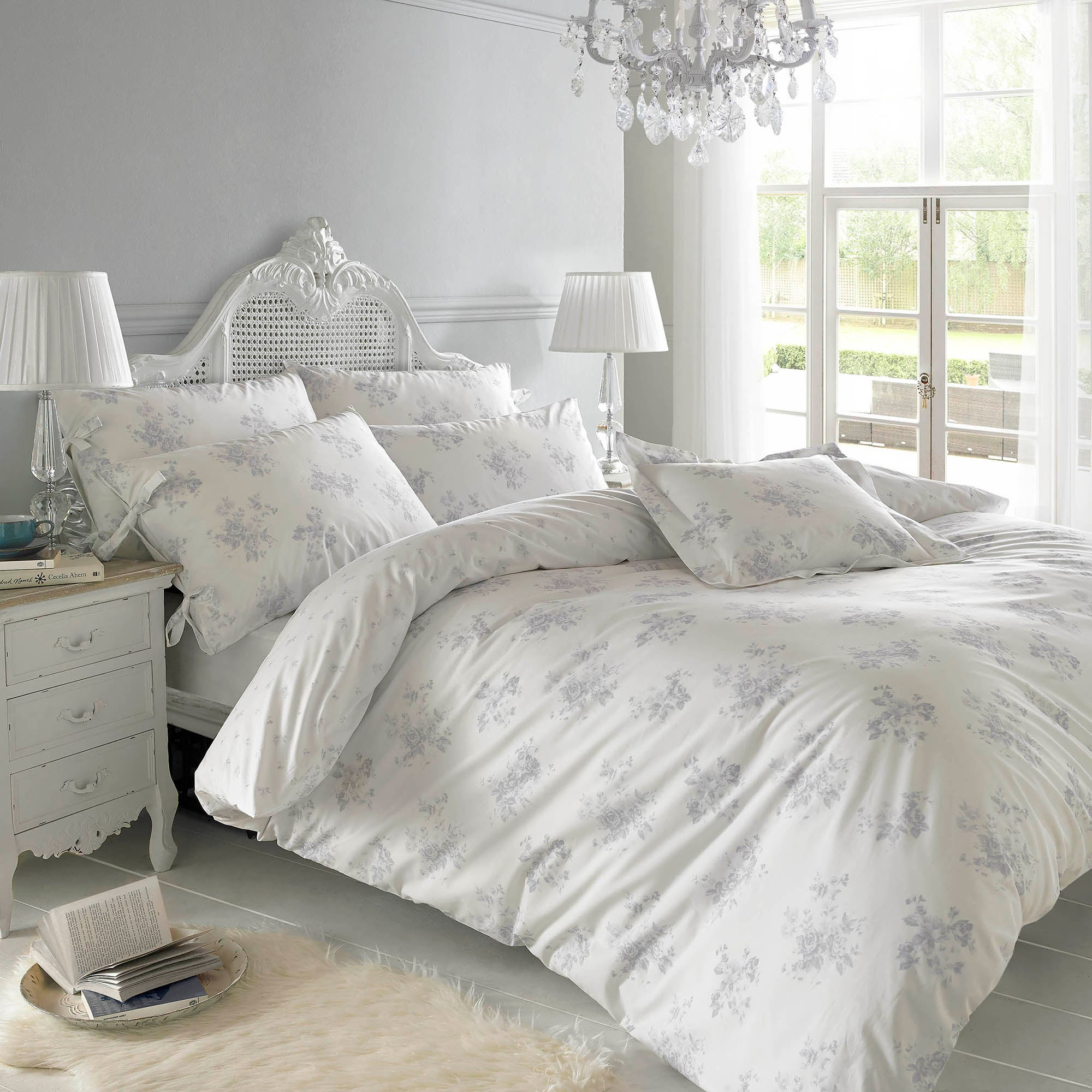 Holly Willoughby Maya Blue Bed Linen Collection