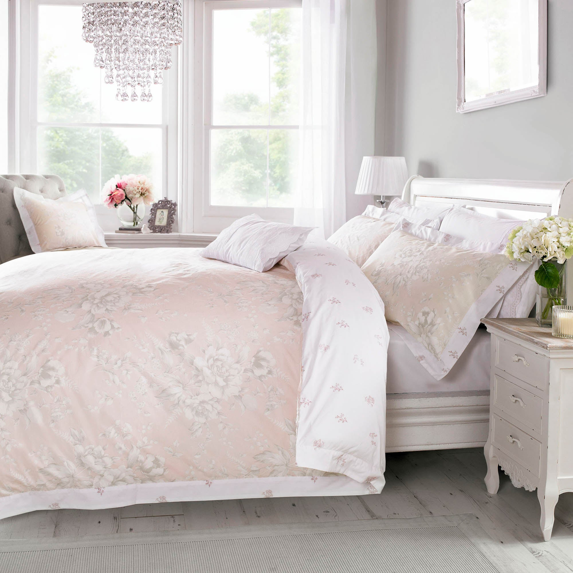 Holly Willoughby Ruby Pink Bed Linen Collection