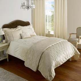 Serena Natural Bed Linen Collection