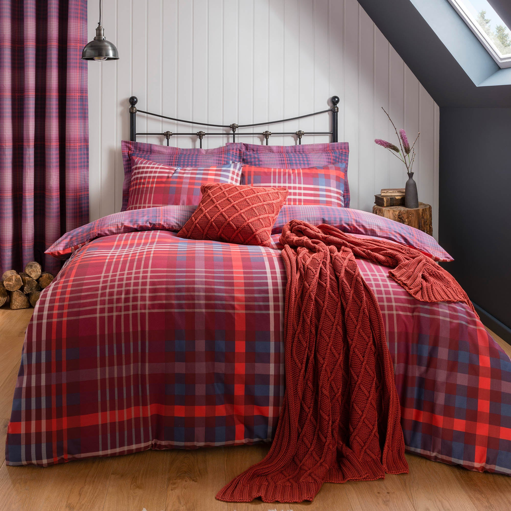 Declan Check Bed Linen Collection