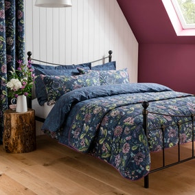 Elvedon Blue Bed Linen Collection