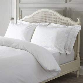 Dorma 300 Thread Count White Bed Linen Collection