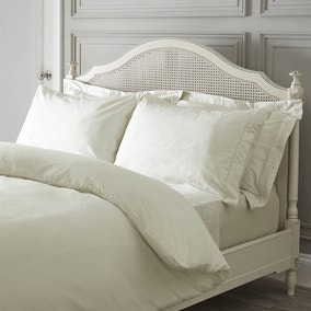 Dorma 300 Thread Count Cream Bed Linen Collection