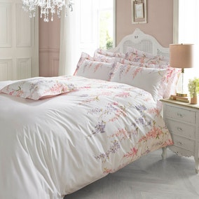 Holly Willoughby Wisteria Pink Bed Linen Collection
