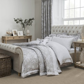 Dorma Samira Grey Bed Linen Collection