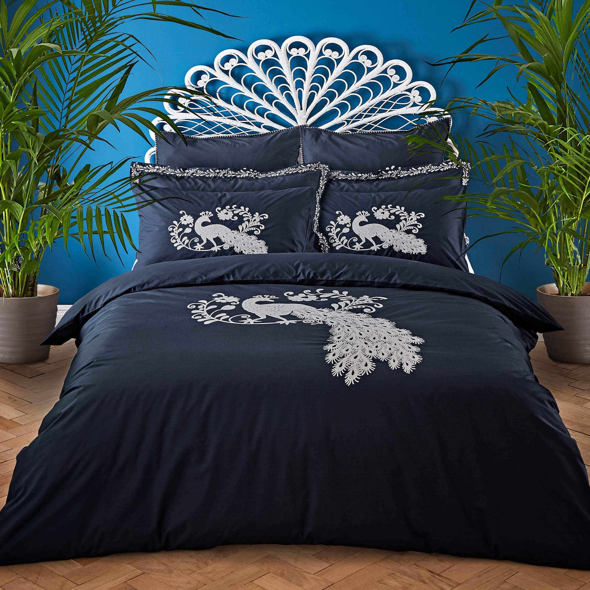 Jan Constantine Oriental Peacock Bed Linen Collection