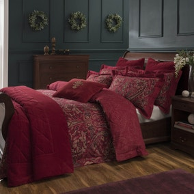 Dorma Marianna Red Bed Linen Collection