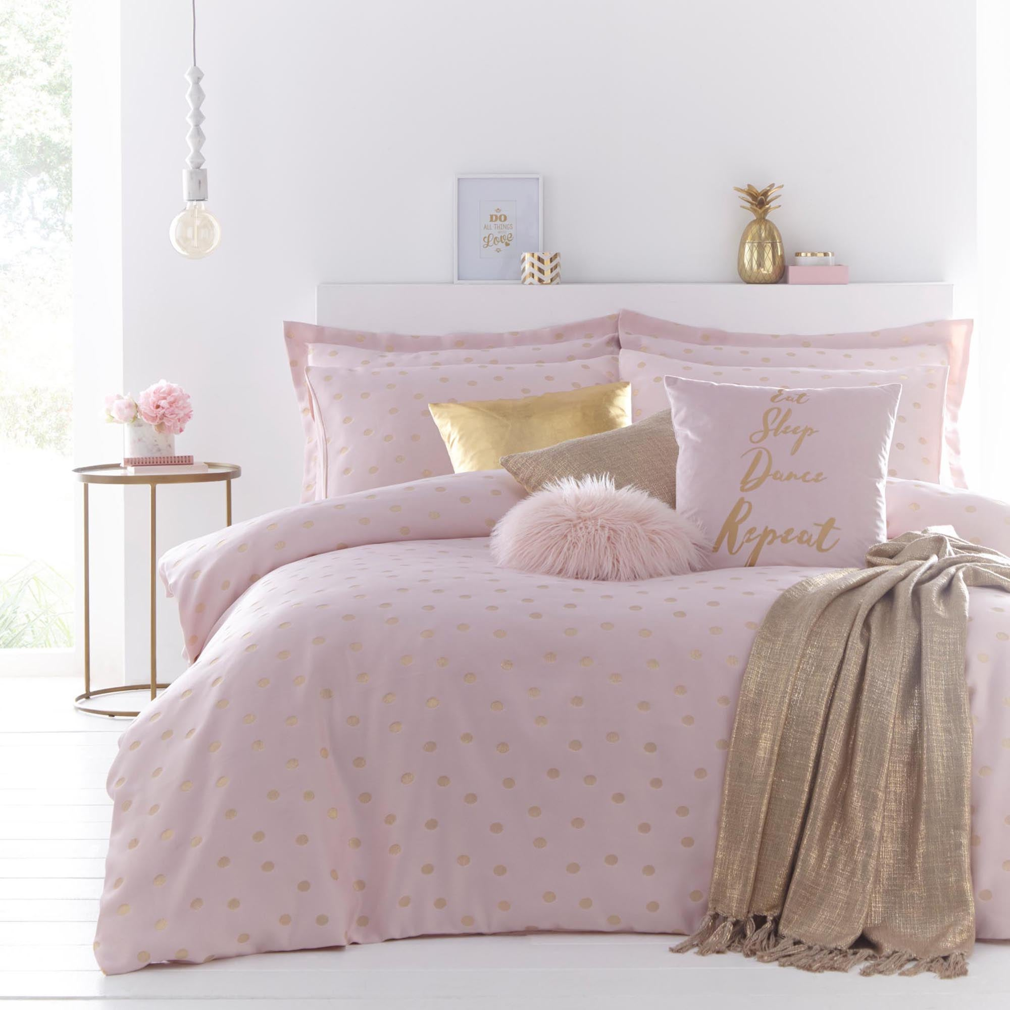 Madison Pink Bed Linen Collection