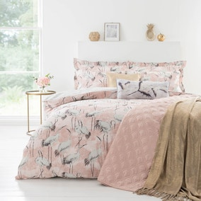 Ardea Pink Bed Linen Collection