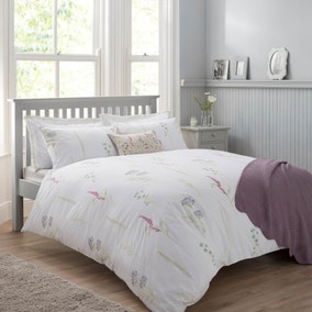Spring Meadow Mauve Bed Linen Collection