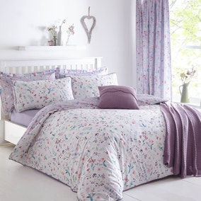 Botanical Meadow Purple Bed Linen Collection